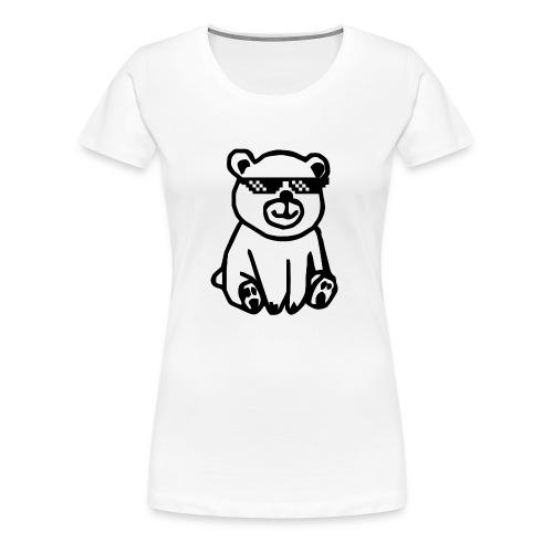 Rhyme Bear - Frauen Premium T-Shirt