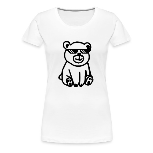 Rhyme Bear - Frauen Premium T-Shirt