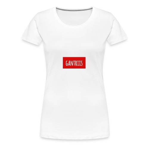 Klassisk med Navn - Dame premium T-shirt