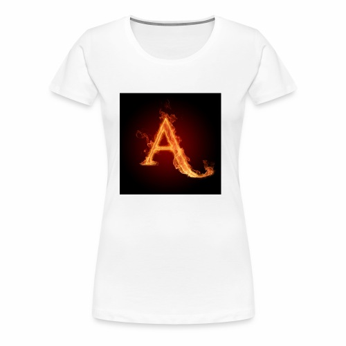 The letter A the letter a 22186960 2560 2560 - Women's Premium T-Shirt