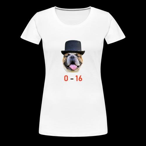 Cleveland Browns - Frauen Premium T-Shirt