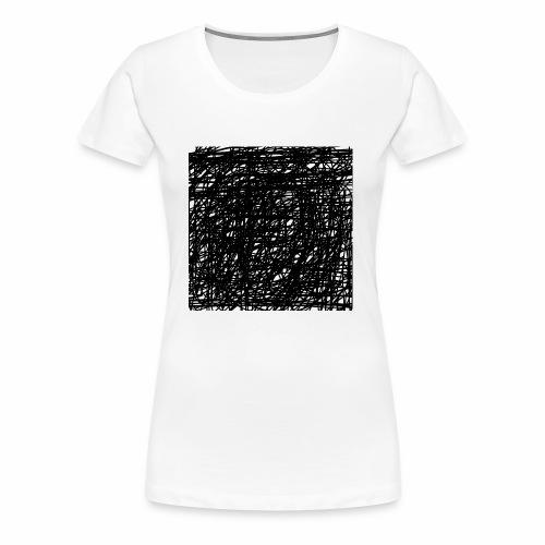 Kritzel-Design - Frauen Premium T-Shirt