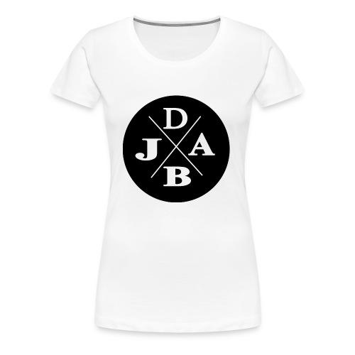 DJAB schwarz & weiß - Frauen Premium T-Shirt