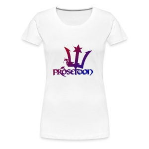 Proseidon Logo Original Colours - Frauen Premium T-Shirt