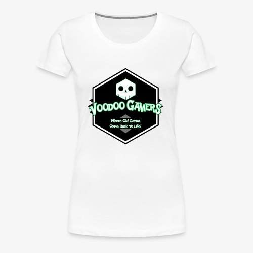 Show your Voodoo Gaming Retro Love! - Women's Premium T-Shirt