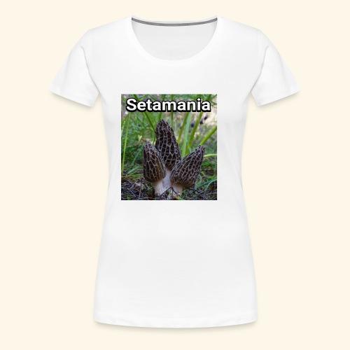 Colmenillas setamania - Camiseta premium mujer