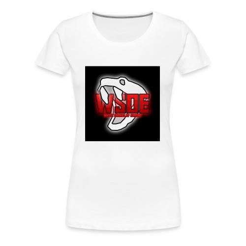 WSOE Logo - Frauen Premium T-Shirt