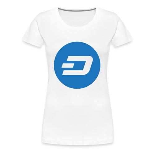 Dash Logo - Frauen Premium T-Shirt
