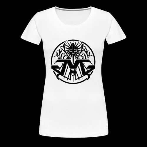 JMG Circle Logo - Frauen Premium T-Shirt