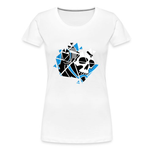 Official Logo Of The Hooded Gamer - Women's Premium T-Shirt