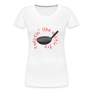 Twistin' Like a Stir Fry - Women's Premium T-Shirt