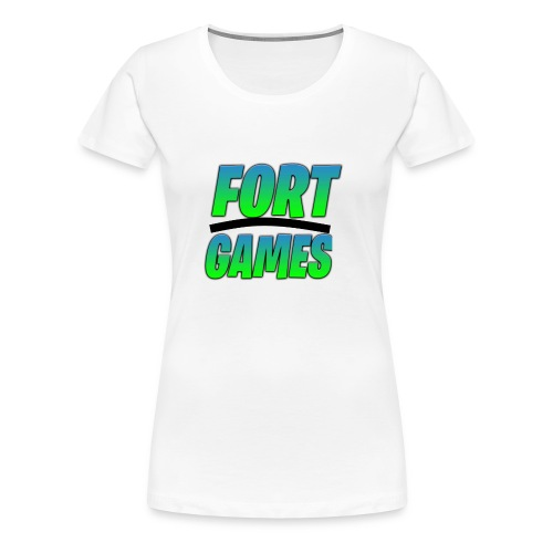 FortGames Merch - Frauen Premium T-Shirt
