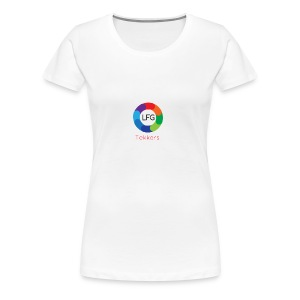 New LFG Tekkers Logo - Women's Premium T-Shirt