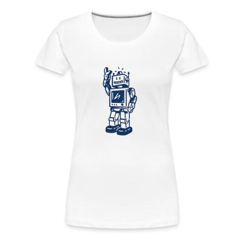 robi v01a - Frauen Premium T-Shirt
