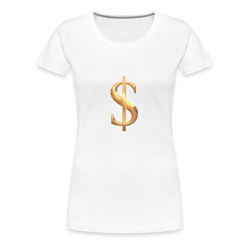 Money - Frauen Premium T-Shirt