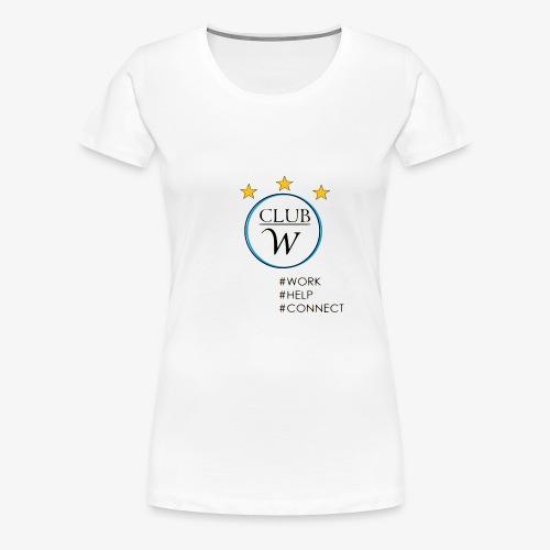 CLUB W - Frauen Premium T-Shirt
