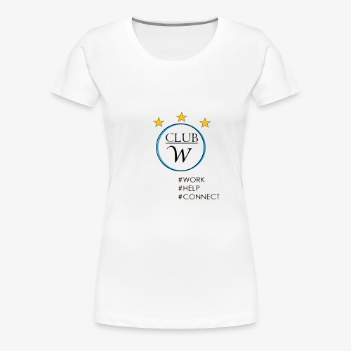 CLUB W - Frauen Premium T-Shirt