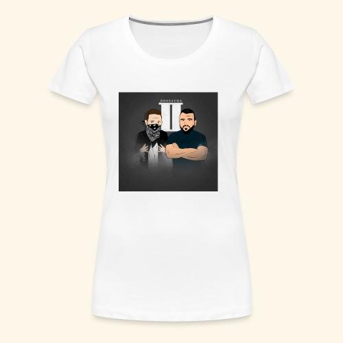 Bossaura 2 Cartoon - Frauen Premium T-Shirt