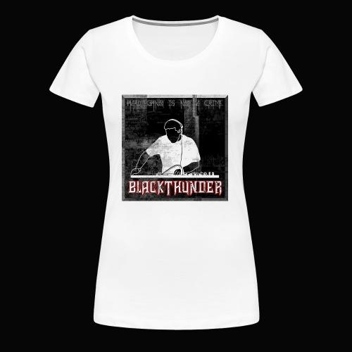 BlackThunder (Hardtechno) Logo - Frauen Premium T-Shirt