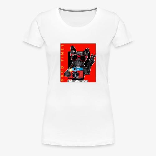 E&J CLOTHES - Camiseta premium mujer