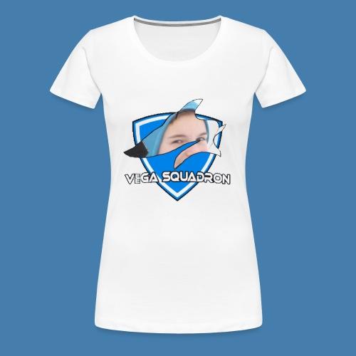 Veega Full Chest Logo - Premium T-skjorte for kvinner