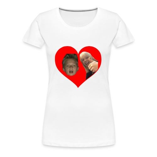 Sebber in love - Dame premium T-shirt
