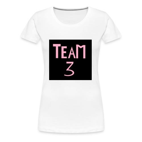 Team 3 - Premium T-skjorte for kvinner