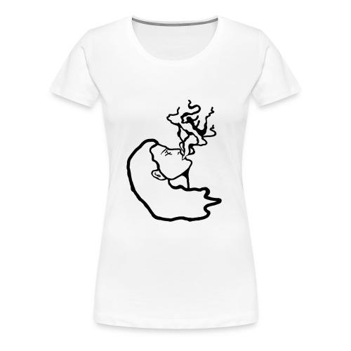 AE Fumante [LOGO NERO] - Maglietta Premium da donna
