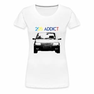 205 ADDICT - T-shirt Premium Femme