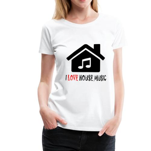 House Music Haus Party Shirt - Frauen Premium T-Shirt