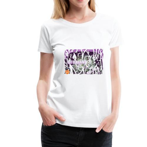 rotterdam love - Vrouwen Premium T-shirt
