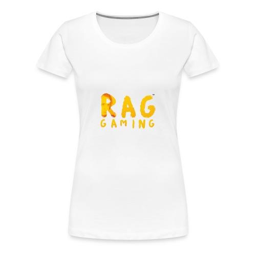 RaG Gaming™ big logo - Premium T-skjorte for kvinner