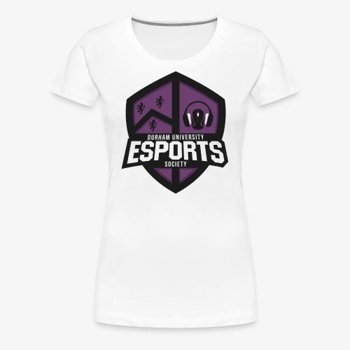 DUES Logo (V2.0) - Women's Premium T-Shirt