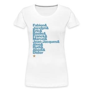 OM 1993-2018 | 25 ans: A JAMAIS LES PREMIERS - T-shirt Premium Femme