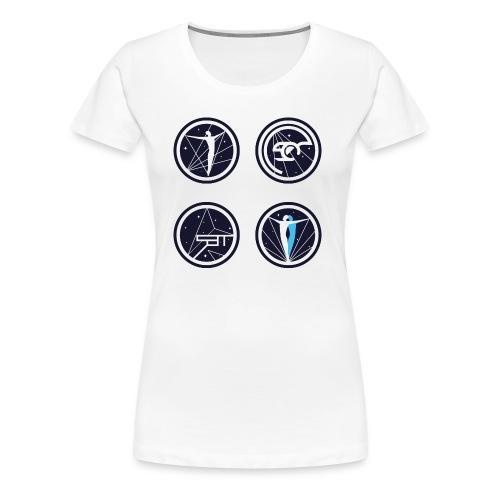 STATAEMKE SOUND - Frauen Premium T-Shirt