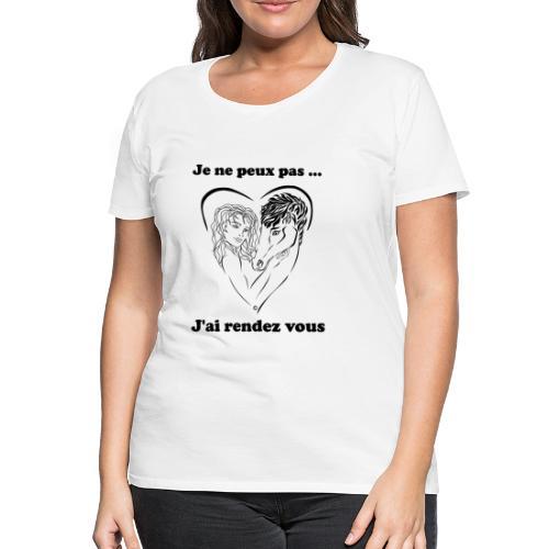cheval j'peux pas FC - T-shirt Premium Femme