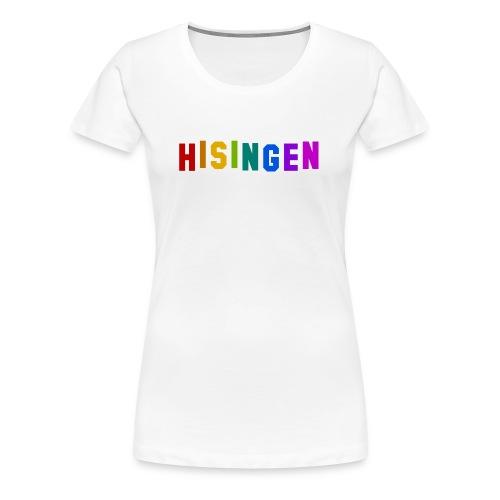 Regnbågsskylten - Premium-T-shirt dam