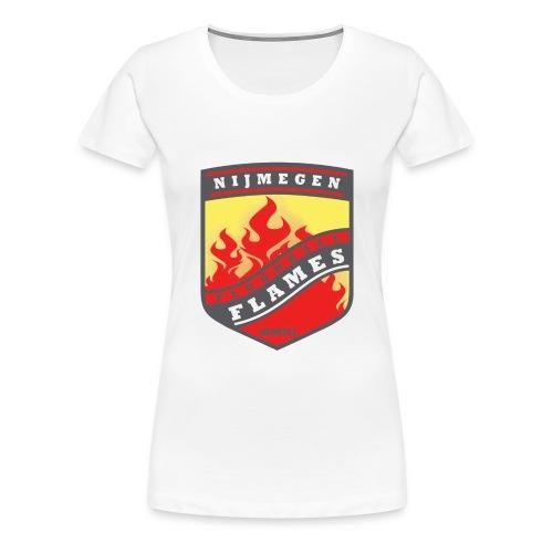 trainingsjack rood - Vrouwen Premium T-shirt