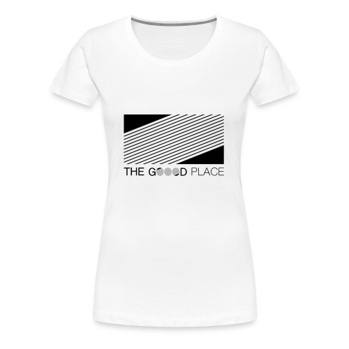 THE GOOOD PLACE LOGO - Vrouwen Premium T-shirt