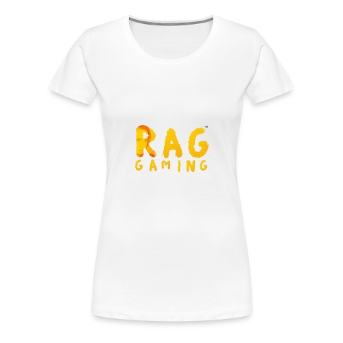 RaG Gaming™ big logo - Premium T-skjorte for kvinner
