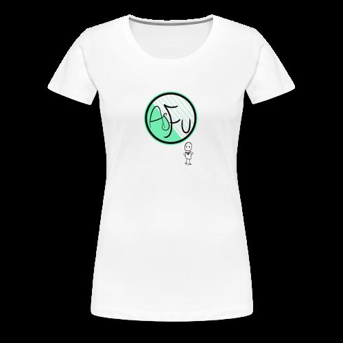 MintAsFu Logo - Women's Premium T-Shirt