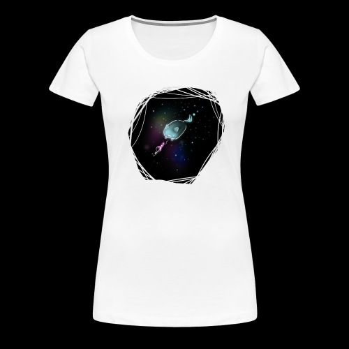 Space Cat - Frauen Premium T-Shirt
