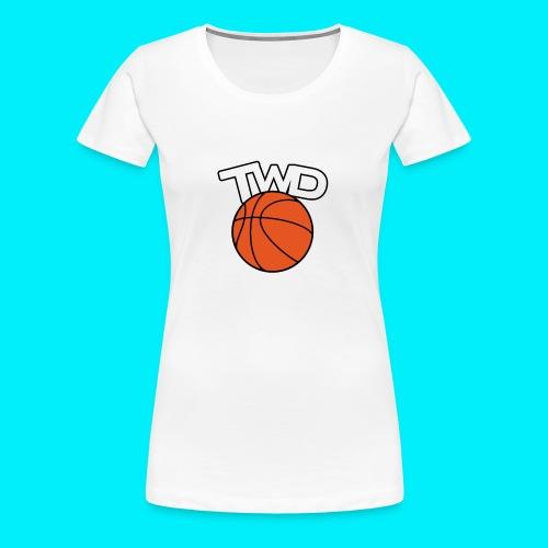 Logo TWD - T-shirt Premium Femme