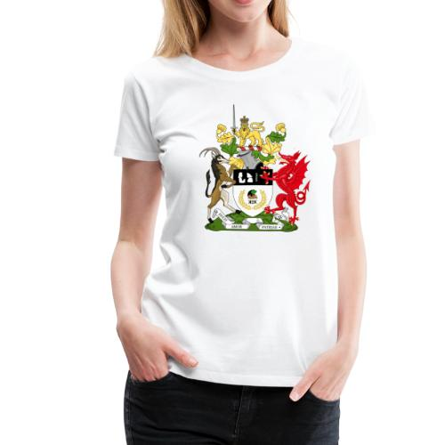 Coat of Arms of Kekistan - Vrouwen Premium T-shirt