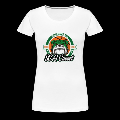 SCA Cusset Basket - T-shirt Premium Femme