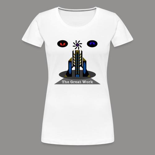 The Great Work of Freddy Hartman - Women's Premium T-Shirt