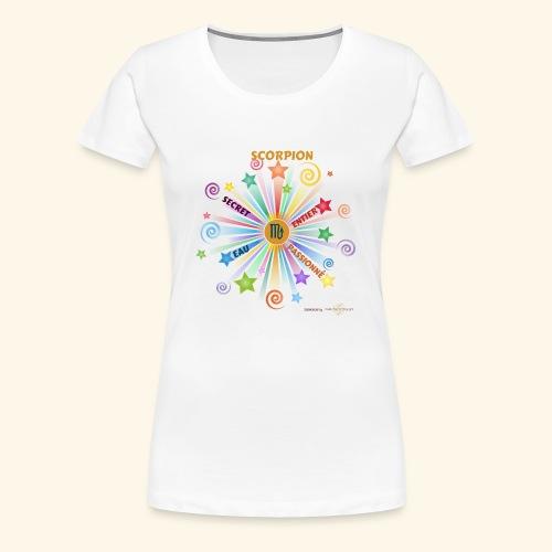 SCORPION powers - T-shirt Premium Femme