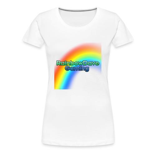 RainbowDave Gaming Logo - Women's Premium T-Shirt