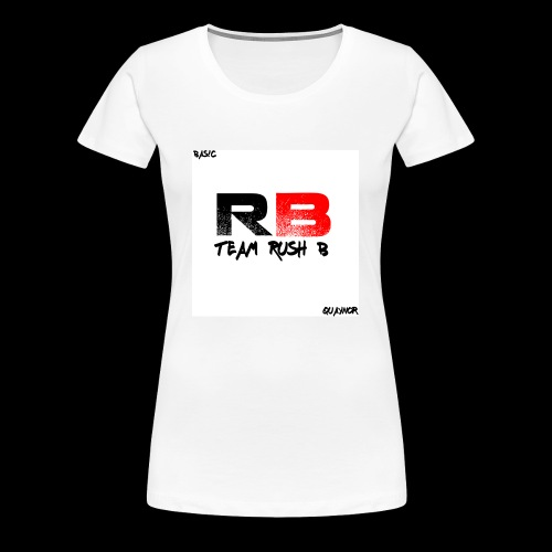 trb logo quaynor - Women's Premium T-Shirt
