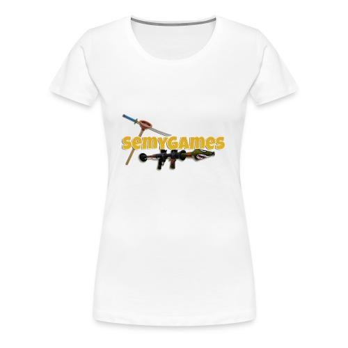 MerchLogo - Vrouwen Premium T-shirt